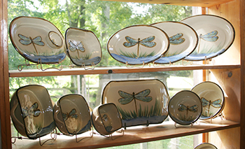 Dragonfly Dishes