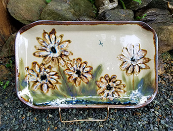 Sunflower Rectangular platter